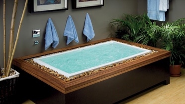 luxury bathing tub