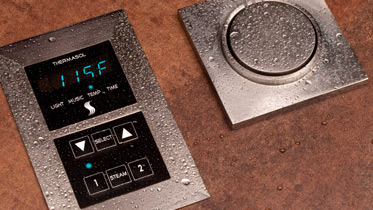 steam and sauna control