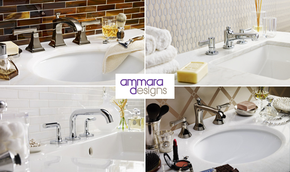 Ammara Designs, bathroom sinks