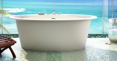 tub by the sea
