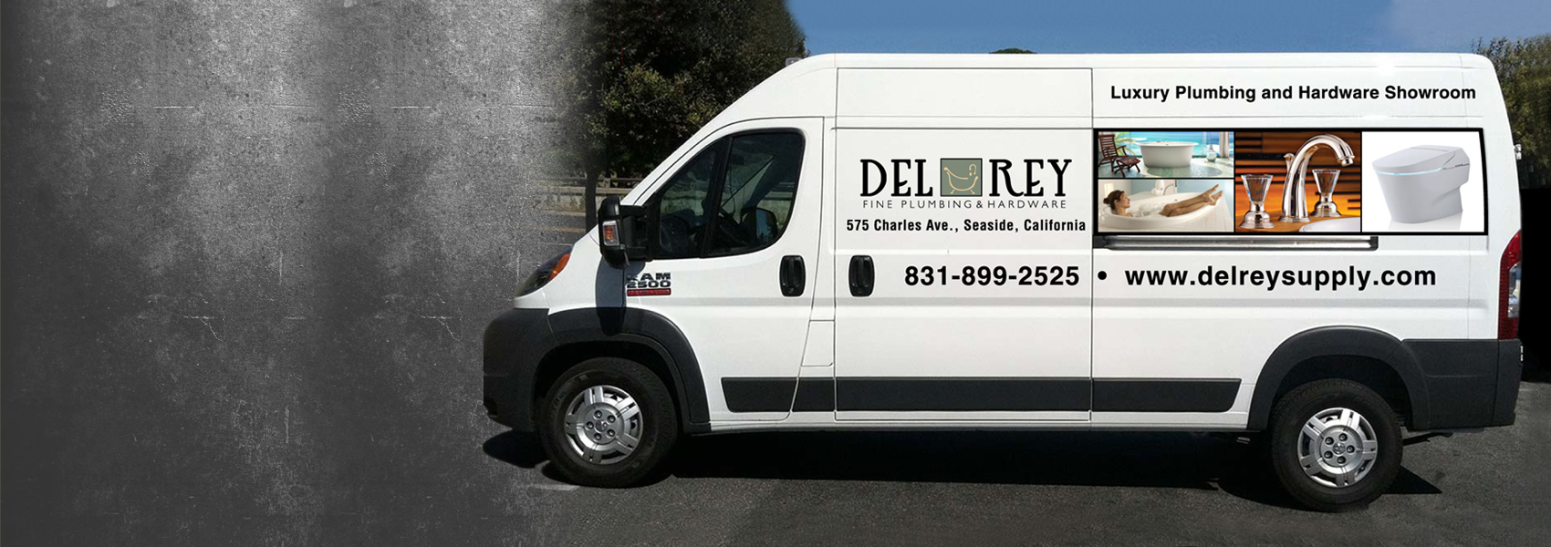 Del Rey truck, Seaside, CA