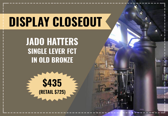 Display Closeout, Jado Hatters